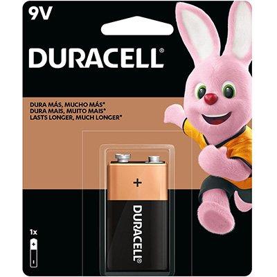 Bateria Alcalina 9V Duracell - BT 1 UN