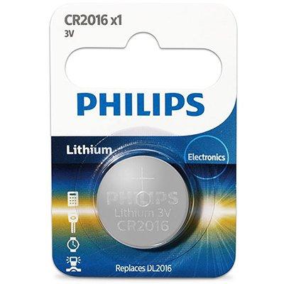 Bateria eletrônica litio CR2016 - 3 volts Philips BT 5 UN