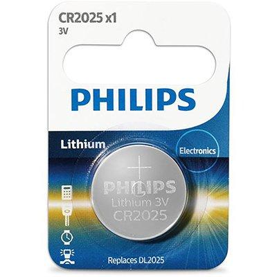 Bateria eletrônica litio CR2025 - 3 volts Philips BT 5 UN