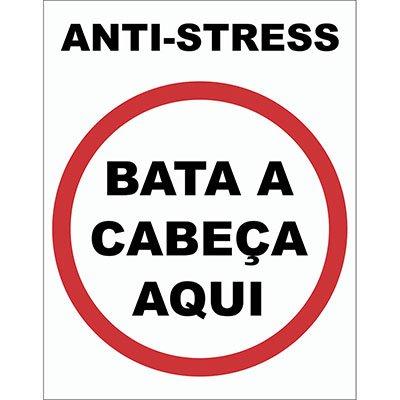 Placa decorativa Anti Stress 038 Legião Nerd BT 1 UN