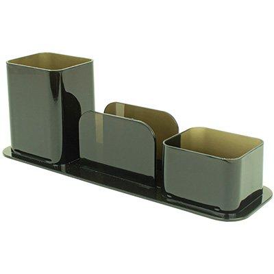 Porta lápis/clips/lembrete poliestireno fumê Dello CX 1 UN