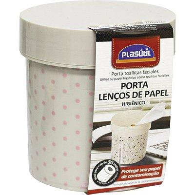 Porta lenços de papel ideal p/ rolos de papel 30m 13141 Plasutil PT 1 UN
