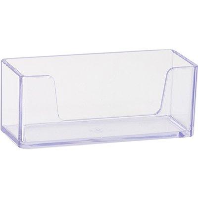 Porta cartão de visita de mesa cristal 10330050 Waleu CX 1 UN