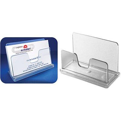 Porta cartão de visita de mesa classic cristal 730.1 Acrimet CX 1 UN