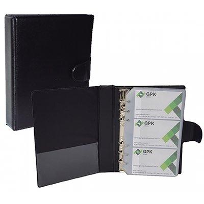 Porta cartão de visita p/ 150 unidades garra met.garg. 404 Plastpark PT 1 UN