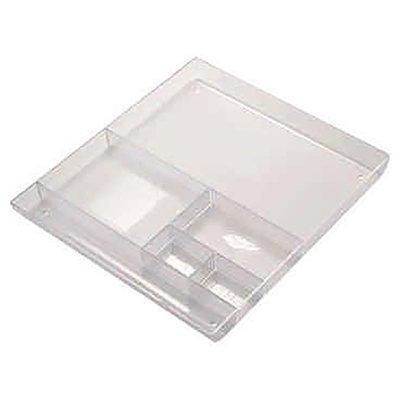 Organizador de gaveta poliestireno cristal Dello PT 1 UN