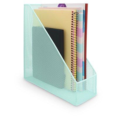 Porta revista aramado verde pastel B83200 Spiral Office PT 1 UN