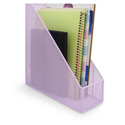 Porta revista aramado lilás pastel B83200 Spiral Office PT 1 UN