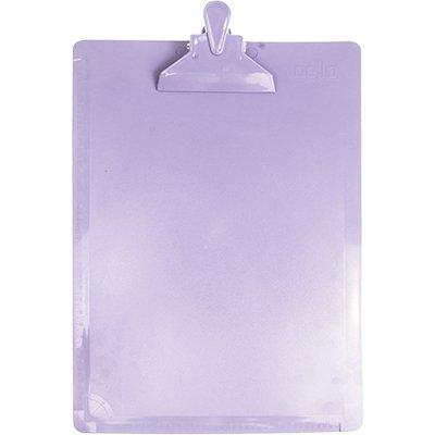 Prancheta poliestireno oficio lilás pastel 3006.LP Dello PT 1 UN