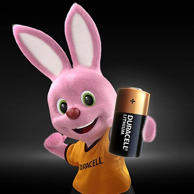 Bateria eletrônica litio CR123 - 3 volts 5006061 Duracell BT 1 UN