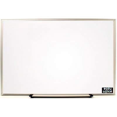 Quadro branco 65x45 moldura aluminio AL-4565 Easy Office PT 1 UN