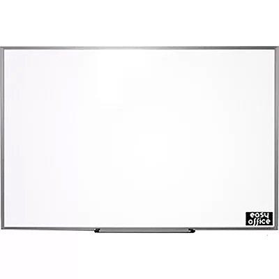 Quadro branco 90x60 moldura aluminio AL-6090 Easy Office PT 1 UN