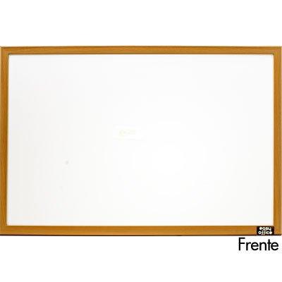 Quadro branco 60x40 moldura madeira MDF-4060 Easy Office PT 1 UN
