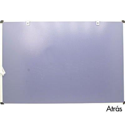 Quadro magnético 90x60 branco moldura alumínio AL-6090MAG Easy Office PT 1 UN