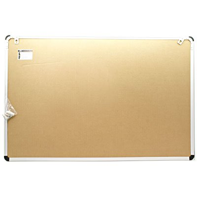 Quadro aviso 90x60 cortiça moldura alumínio ALC-6090 Easy Office PT 1 UN