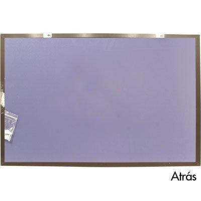 Quadro aviso 90x60 cortiça moldura madeira MDFC-6090 Easy Office PT 1 UN
