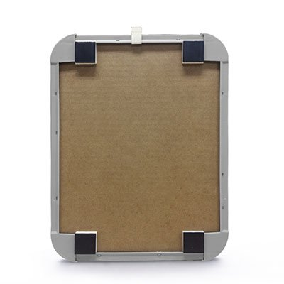 Quadro magnético 27,6x21,2 moldura polipropileno cinza P2721 Easy Office PT 1 UN