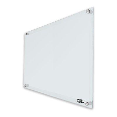Quadro magnético 120x90 branco de vidro GL12090MAG Easy Office PT 1 UN