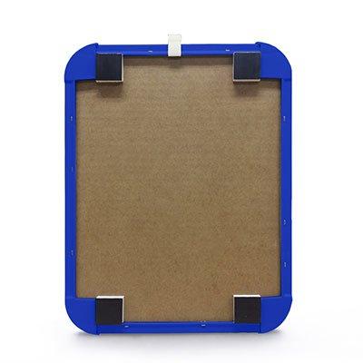 Quadro magnético 27,6x21,2 moldura polipropileno azul PP2721 Easy Office  PT 1 UN