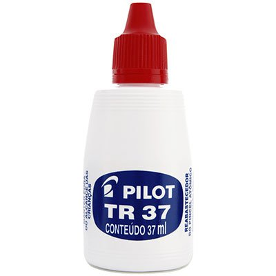 Reabastecedor p/pincel atômico 37ml vermelho 1060001 Pilot PT 1 UN