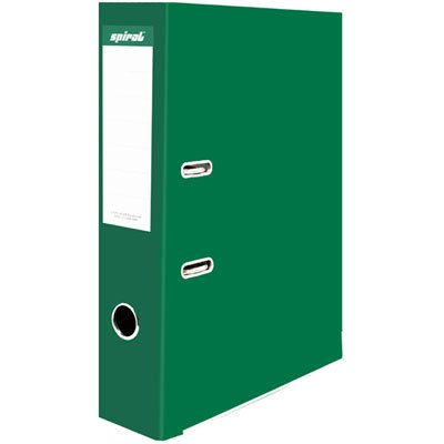 Registrador a/z c/visor A4 LL pokf verde Spiral PT 1 UN