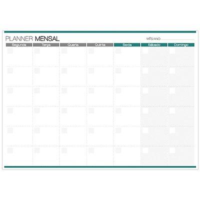 Planner mensal 214x280mm c/ 24 fls Spiral 20217 Spiral PT 1 UN