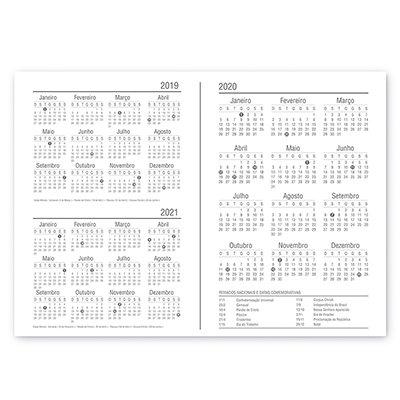 Planner semanal 214x280mm c/ 60 flsFantasy 20130 Spiral Fan PT 1 UN