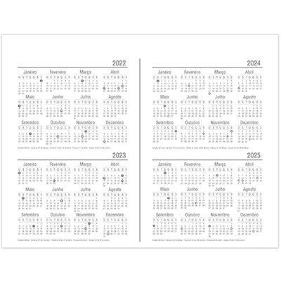 Planner semanal 214x280mm c/ 60 fls Spiral 20140 Spiral PT 1 UN