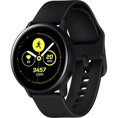 Relógio SmartWatch Galaxy Watch Active, Pulseira de Silicone, Bluetooth, NFC e 4GB - Preto - Samsung  CX 1 UN