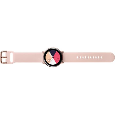 Relógio SmartWatch Galaxy Watch Active, Pulseira de Silicone, Bluetooth, NFC e 4GB - Rosé - Samsung  CX 1 UN