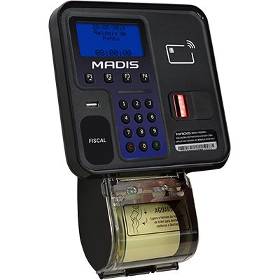 Relógio de ponto eletrônico biométrico MD0706 Madis CX 1 UN
