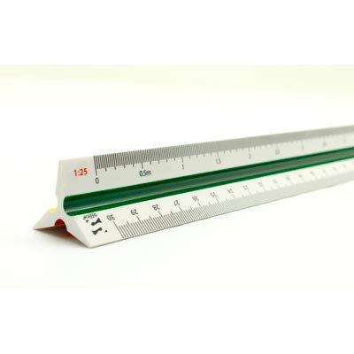 Escalímetro triangular 30cm Spiral Office BT 1 UN