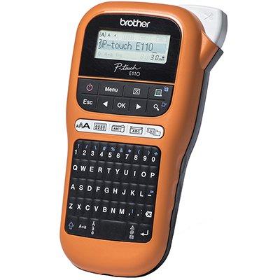 Rotulador eletrônico portátil PTE110 Brother CX 1 UN
