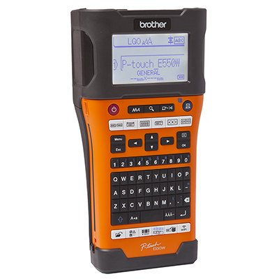 Rotulador eletrônico de mesa PTE550WVP Brother CX 1 UN
