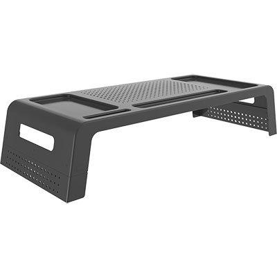 Suporte para monitor com porta Smartphone preto 10090012 Waleu CX 1 UN