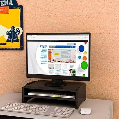 Suporte p/monitor duplo 9767 Stalo CX 1 UN