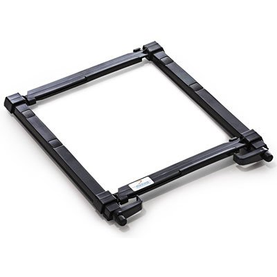 Suporte p/notebook plástico regulável preto Reliza CX 1 UN