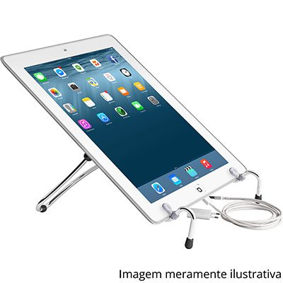 Suporte p/notebook UpTable cromado UP-02 Octoo CX 1 UN