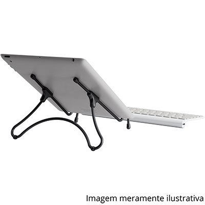 Suporte p/notebook UpTable preto UP-BL Octoo CX 1 UN