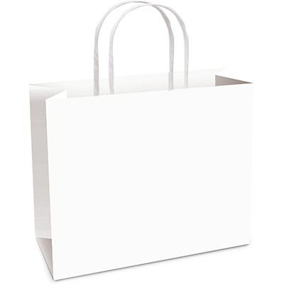 Sacola para presente papel horizontal 22x30x9cm branco 14000448 Cromus PT 10 UN