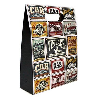 Caixa trapézio duplex 250g 29,5x8x22,9 Vintage Car Kawagraf PT 1 UN