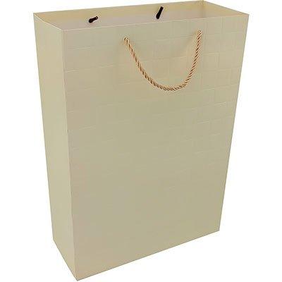 Sacola para presente papel 26x32x12cm tex.blocos sortidos 18558 Yazi PT 1 UN