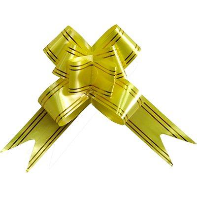 Laço para presente pronto 18x34cm dourado 4763 Gala PT 10 UN
