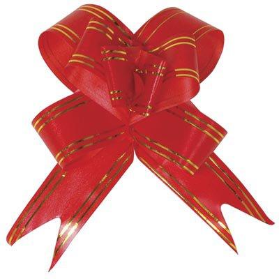 Laço para presente pronto 18x34cm vermelho 4762 Gala PT 10 UN