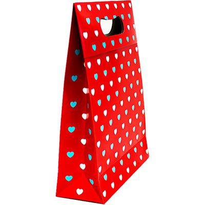 Caixa trapézio duplex 250g 29,5x8x23 coração 990010041 Kawagraf PT 1 UN