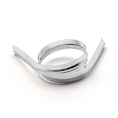 Fecho prático  aramado 4x11cm brilhante prata Indústria e Comercio PT 100 UN