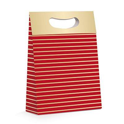 Caixa trapézio papel cartão 26x11x40 Red 13000355 Cromus PT 1 UN