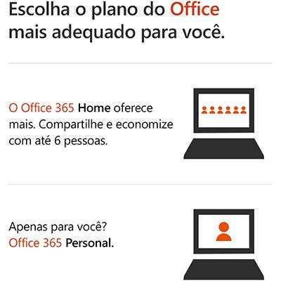 Office 365 Personal Assinatura Anual (Word, Excel, PowerPoint, Outlook e 1TB de Armazenamento na Nuvem do OneDrive) AOMI0056 - Microsoft PT 1 UN