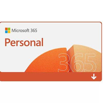 Microsoft 365 Personal: 1 Licença - Word, Excel, PowerPoint, Outlook + 1TB de HD Virtual - Assinatura Anual - Microsoft UN 1 UN