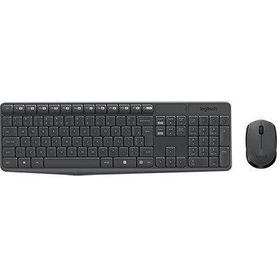 Kit wireless (teclado/mouse) MK235 Logitech CX 1 UN